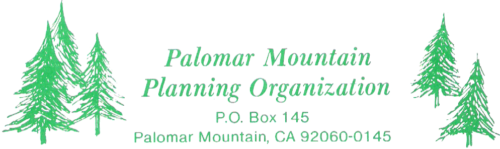 Palomar Mountain Planning Organization